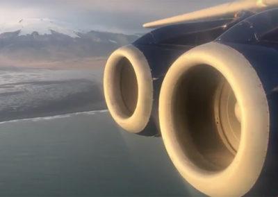 FAAM over Iceland