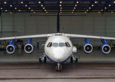 The FAAM Aircraft in Hangar